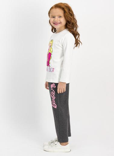 Barbie Pijama Takım Lacivert